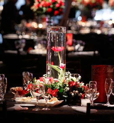 Decoração para mesas